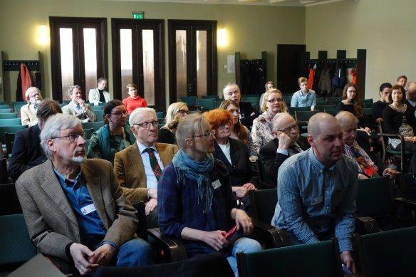 Säätiön seminaarin yleisöä 2017