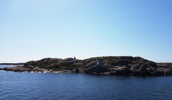 Luoto Saaristomerellä. Kuvaaja Milla Aalto.